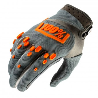 Guantes motocross 100% Airmatic Grey