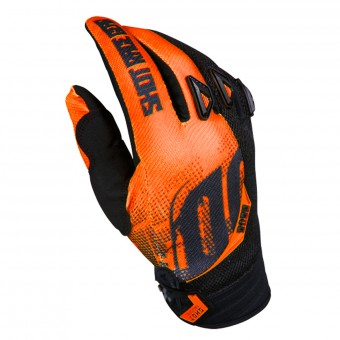 Guantes motocross SHOT Devo Venom Orange Niño