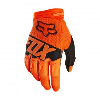 Guantes motocross FOX Dirtpaw Race Orange Black Niño 009