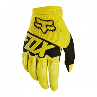 Guantes motocross FOX Dirtpaw Race Yellow Black Niño 005