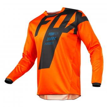 Camiseta Motocross FOX 180 Master Orange Niño 009
