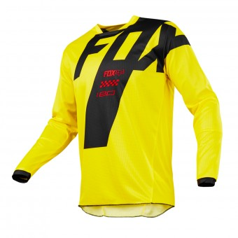 Camiseta Motocross FOX 180 Master Yellow Niño 005