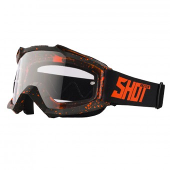Gafas motocross SHOT Assault Drop Neon Orange Matt