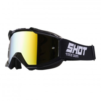 Gafas motocross SHOT Iris Black Iridium Gold