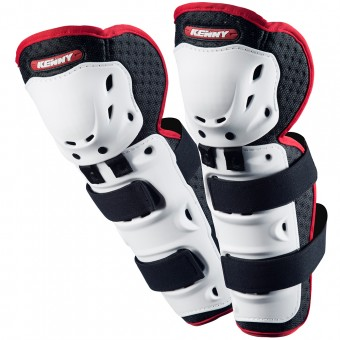 Rodilleras Motocross Kenny Knee Guards White