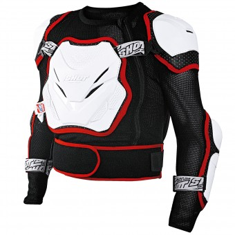 Chaleco motocross SHOT Anatomic White