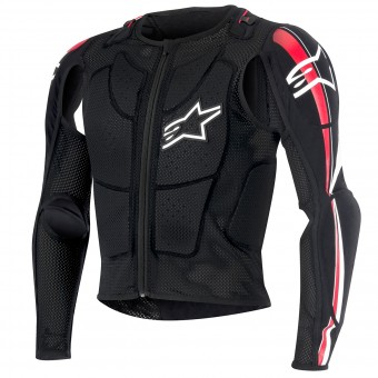 Chaleco motocross Alpinestars Bionic Plus Black Red