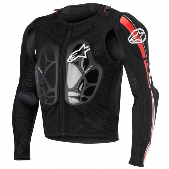 Chaleco motocross Alpinestars Bionic Pro Black Red