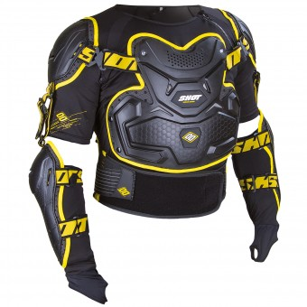 Chaleco motocross SHOT Interceptor Black Yellow