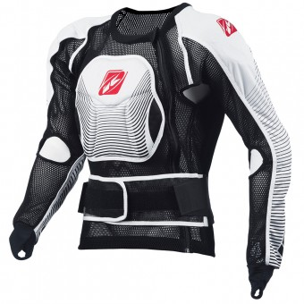 Chaleco motocross Kenny Profile Black White