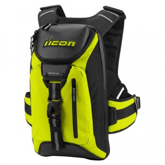 Mochila Moto ICON Squad 3 Mil-Spec Yellow