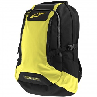 Mochila Moto Alpinestars Charger Backpack Black Yellow Fluo