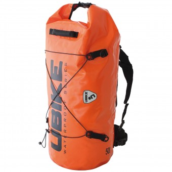 Mochila Moto UBIKE Cylinder Bag 50 L Orange