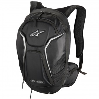Mochila Moto Alpinestars Tech Aero Black White