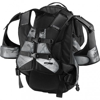 Mochila Moto ICON Squad II Pack Mil-Spec Black