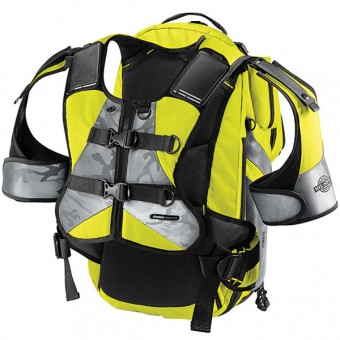 Mochila Moto ICON Squad II Pack Mil-Spec Yellow