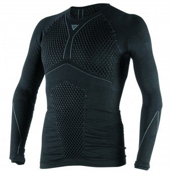 Camiseta térmica Dainese D-Core Thermo Tee LS Black Anthracite