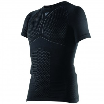 Camiseta térmica Dainese D-Core Thermo Tee SS Black Anthracite