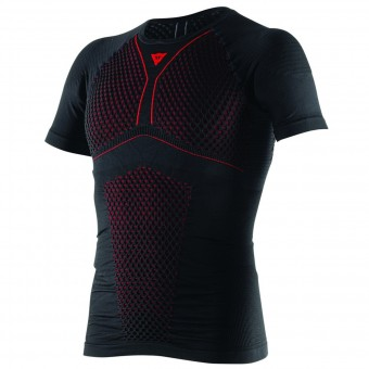 Camiseta térmica Dainese D-Core Thermo Tee SS Black Red