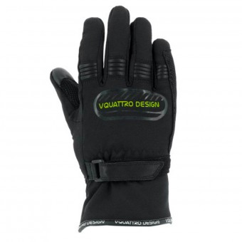 Guantes moto V'Quattro Core 17 Kid Black Green