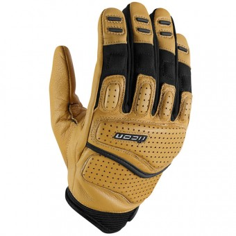 Guantes moto ICON Superduty 2 Tan