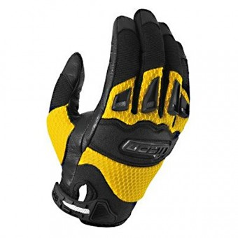 Guantes moto ICON Twenty-Niner Yellow