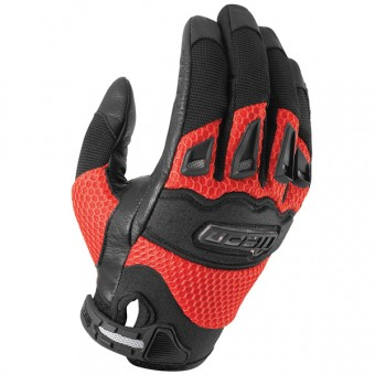 Guantes moto ICON Twenty-Niner Red