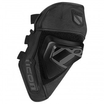 Rodilleras Moto ICON Cloverleaf Knee Black