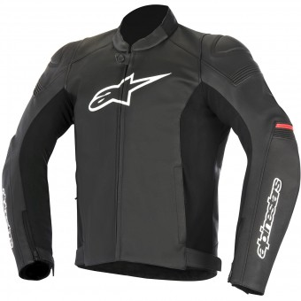 Cazadora moto Alpinestars SP-1 Leather Black Red