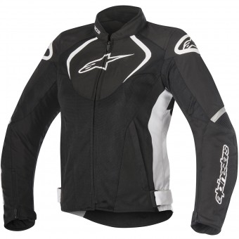 Cazadora moto Alpinestars Stella T-Jaws V2 Air Black White