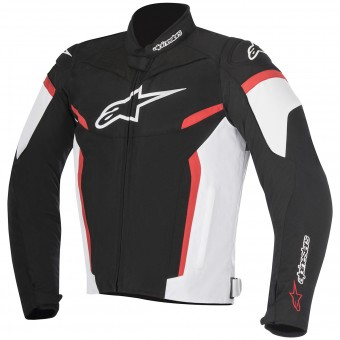 Cazadora moto Alpinestars T-GP Plus R V2 Black White Red