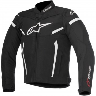 Cazadora moto Alpinestars T-GP Plus R V2 Black White
