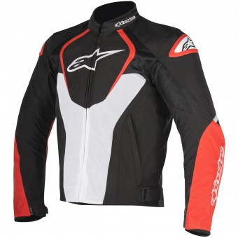 Cazadora moto Alpinestars T-Jaws V2 Air Black White Red