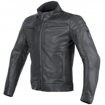 Cazadora moto Dainese Bryan Leather Black