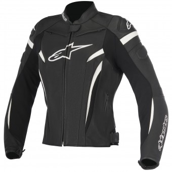 Cazadora moto Alpinestars Stella GP Plus R V2 Black White