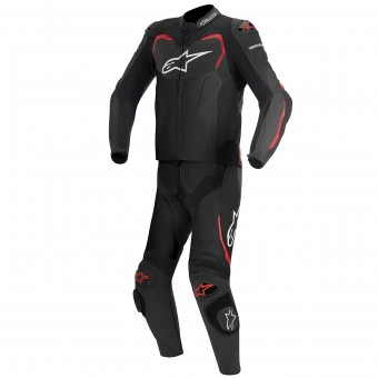 Mono Moto Cuero Alpinestars GP PRO 2PC Black Red