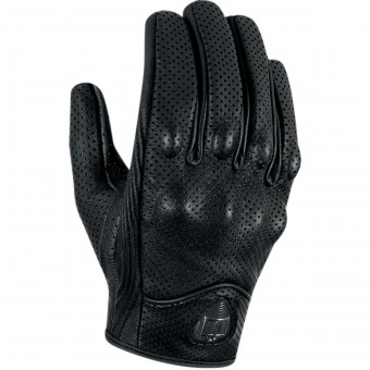 Guantes moto ICON Pursuit Touchscreen Perforated Black