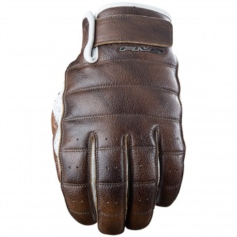 Guantes moto Five California Brown