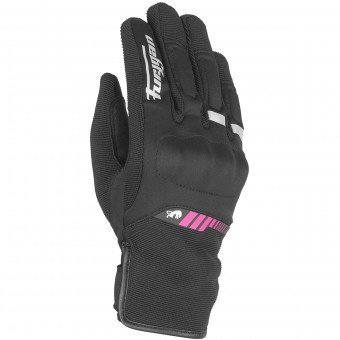 Guantes moto Furygan Jet Lady All Season Black Pink