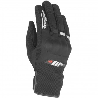 Guantes moto Furygan Jet Lady All Season Black White