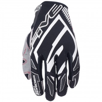 Guantes moto Five MXF Pro Rider Black White