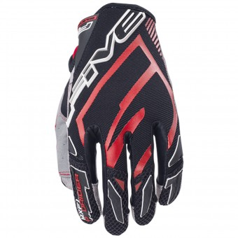 Guantes moto Five MXF Pro Rider Red