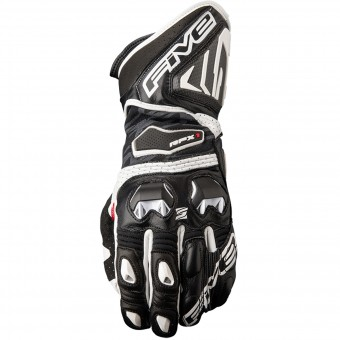 Guantes moto Five RFX1 Black White