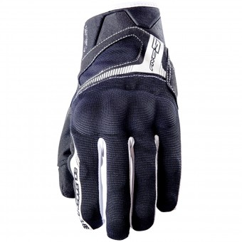 Guantes moto Five RS3 Black White