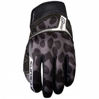 Guantes moto Five RS3 Woman Leo Grey