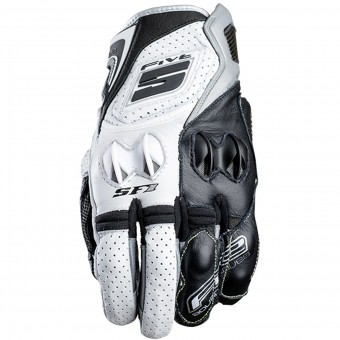 Guantes moto Five SF1 White Grey