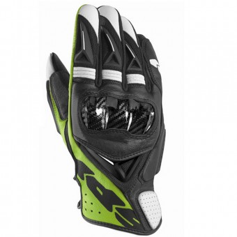 Guantes moto Spidi STR-3 Vent Coupe Black Green