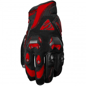 Guantes moto Five Stunt Evo Black Red