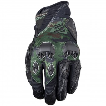 Guantes moto Five Stunt Evo Replica Army