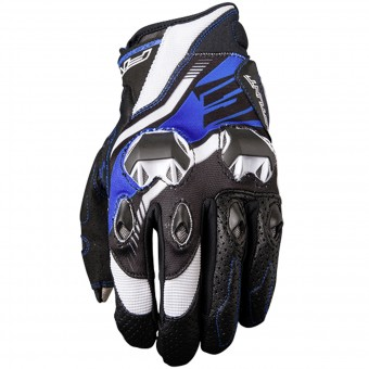 Guantes moto Five Stunt Evo Replica Icon Blue